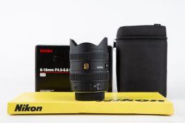 Sigma 8-16mm f 4.5-5.6 DC HSM Nikon