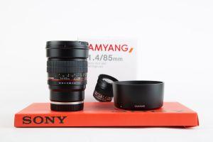 Samyang 85mm f1.4 AS IF UMC Sony E